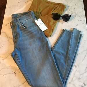 7 for All Mankind the Ankles Skinny Jean Sz 27